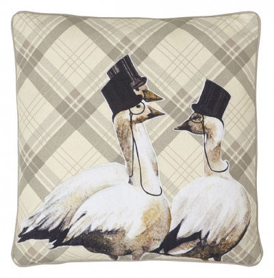 Image of Arthouse Cushions Geese Embroidered Cushion, 008242