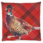 Arthouse Red Pheasant Cushion