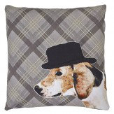 Arthouse Dog Embroidered Cushion
