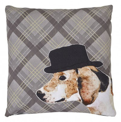 Image of Arthouse Cushions Dog Embroidered Cushion, 008245