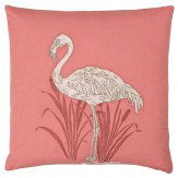 Arthouse Lagoon Coral Embroidered Cushion