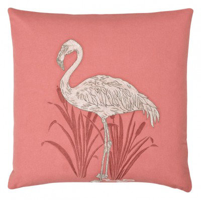 Image of Arthouse Cushions Lagoon Coral Embroidered Cushion, 008249
