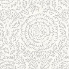 Baker Lifestyle Kamala  Silver Wallpaper