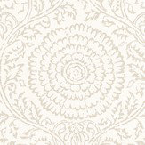 Baker Lifestyle Kamala  Ivory Wallpaper