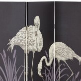 Arthouse Lagoon Black Screen Room Divider