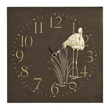 Image of Arthouse Clocks Lagoon Wooden Clock, 008241