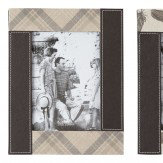 Arthouse Leather Photo Frame Set of 3 Finishing Touch