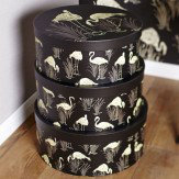 Arthouse Lagoon Round Set of 3 Storage Boxes Finishing Touch - Product code: 007002