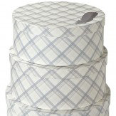 Arthouse Fairburn Round Set of 3 Storage Boxes Finishing Touch