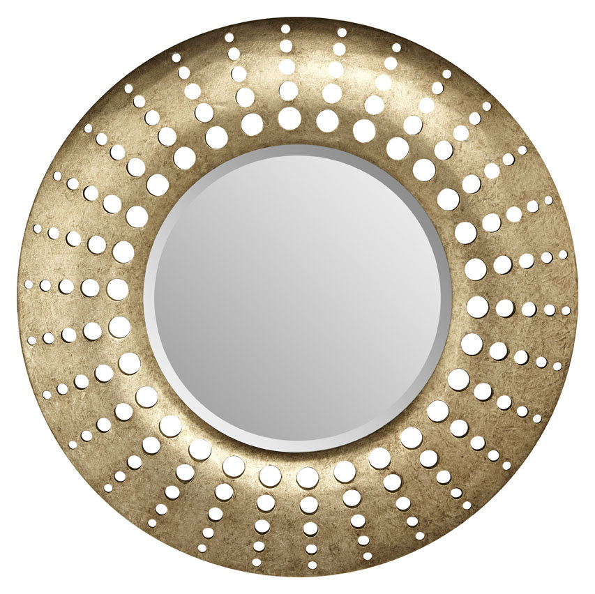 Arthouse Holed Mirror Gunmetal - Product code: 008261