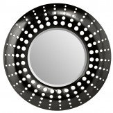 Arthouse Holed Mirror Black