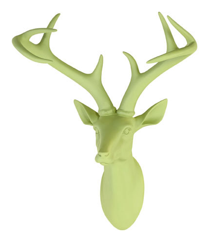 Arthouse Stag Head Green Art - Product code: 008265