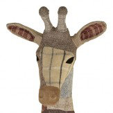 Arthouse Tweed Giraffe Gordon with Fabric Finish Art