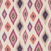 Scion Amala  Berry/Sand/Grape Fabric