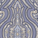 Galerie Grand Damask Ink Wallpaper