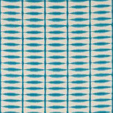 Scion Shibori  Teal/Linen Fabric