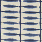 Scion Shibori Indigo/Linen Fabric