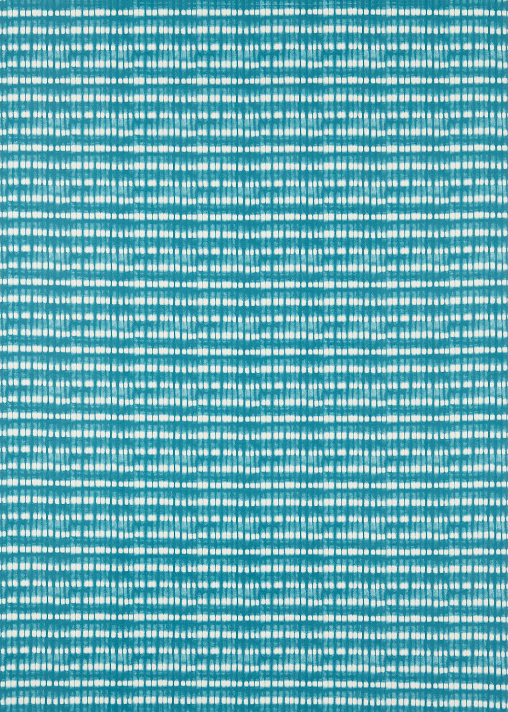Kali  Fabric - Turquoise/Jasmine - by Scion