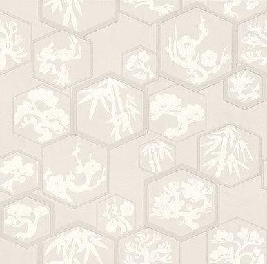 Farrow & Ball Shouchikubai  Pale Pink Wallpaper - Product code: BP 4501