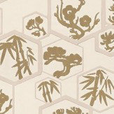 Farrow & Ball Shouchikubai  Cream Wallpaper - Product code: BP 4502