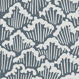 Farrow & Ball Aranami  Navy Wallpaper