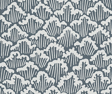 Farrow & Ball Aranami  Navy Wallpaper - Product code: BP 4605