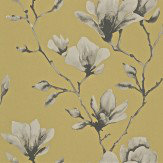 Harlequin Lotus Mustard Wallpaper