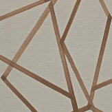 Harlequin Sumi  Hessian/Copper Wallpaper - Product code: 110885