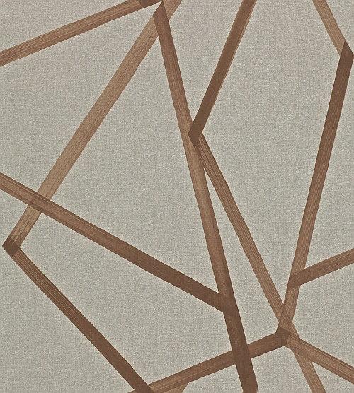 Harlequin Sumi Hessian/Copper Wallpaper main image