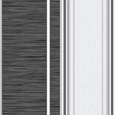 Image of Crown Wallpapers Manhattan Stripe Charcoal, M0887