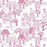 Galerie My House Pink Wallpaper