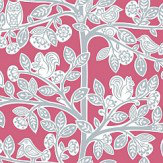 Galerie Oak Tree Pink Wallpaper