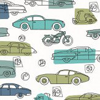 Galerie Motor Green Wallpaper