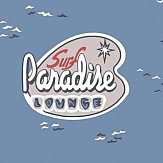 Galerie Surf Paradise Navy Wallpaper