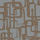 Harlequin Asuka Bronze/Graphite Wallpaper - Product code: 110908