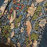 Morris Strawberry Thief King Size Duvet Indigo Duvet Cover