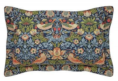 Image of Morris Pillowcases Strawberry Thief Oxford Pillowcase, 103020