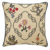 Morris Strawberry Thief Cushion Cream Multi
