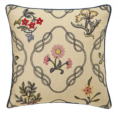 Image of Morris Bedding Strawberry Thief Cushion, 103035