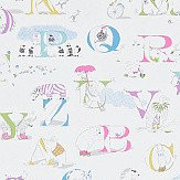 Sanderson Alphabet Zoo Neapolitan Wallpaper