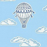 Sanderson Balloons Indigo/Blue Wallpaper - Product code: 214028