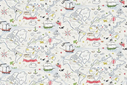 Treasure map by sanderson vanilla multi wallpaper direct gumiabroncs Image collections