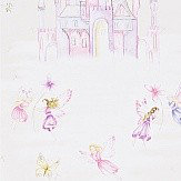 Sanderson Fairy Castle Vanilla Wallpaper