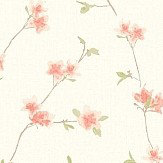 Galerie Daisy Trail Pink Wallpaper