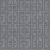 John Morris Maze Grey Wallpaper