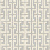 John Morris Maze Cream Wallpaper