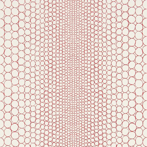 Image of Christian Lacroix Wallpapers Pearls Red, PCL018/08