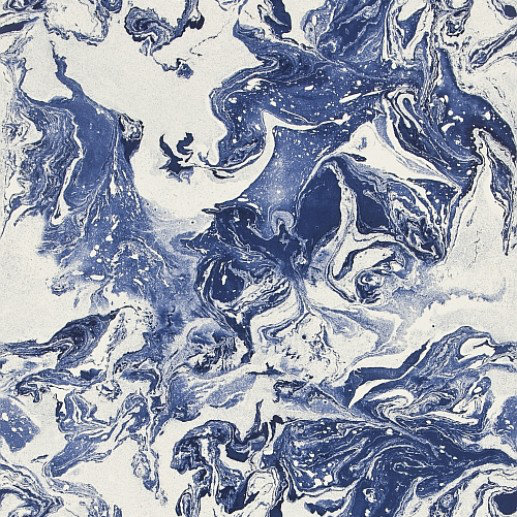 Image of Christian Lacroix Wallpapers Bain De Minuit Indigo, PCL016/06