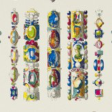 Christian Lacroix La Main Au Collet Multi Multi / White Wallpaper