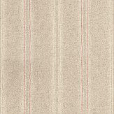 John Morris Library Stripe Grey Wallpaper